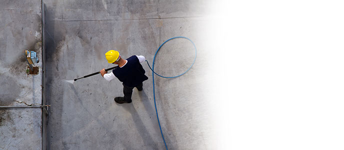 steam cleaning - water pressure - washing - roof cleaning - restoration